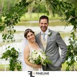 Stonehenge Lodge Wedding ceremony photo by FINELINE Weddings Greensburg PA