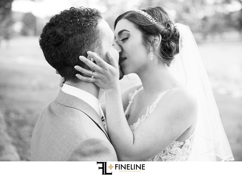 Bride and Groom photo by FINELINE Weddings Greensburg PA