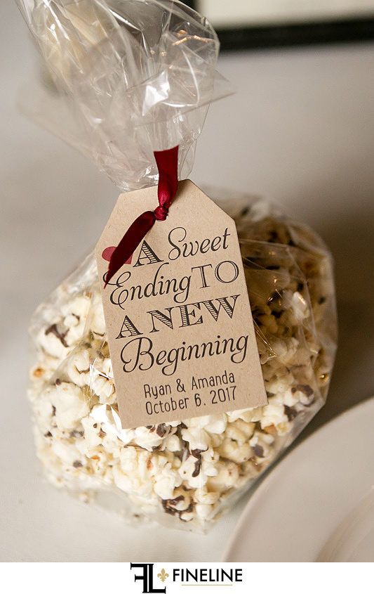 popcorn wedding favor