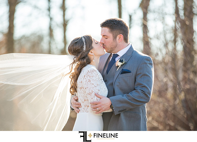 March wedding photography