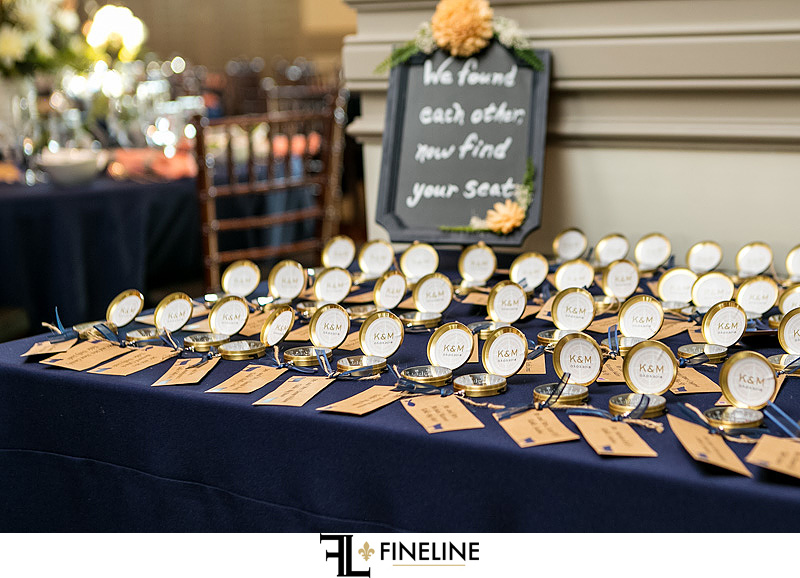 Wedding seat assignments on compass