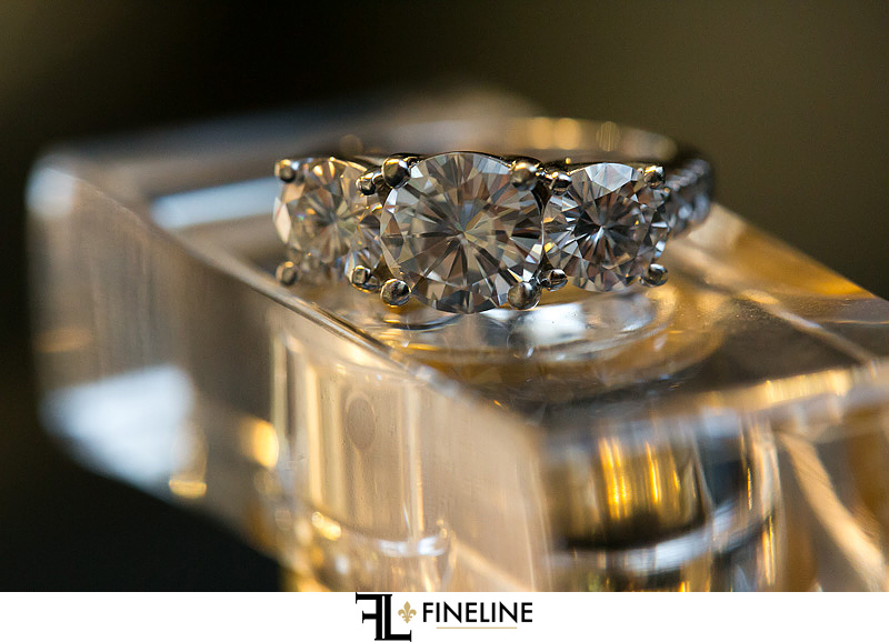 wedding ring photo by FINELINE Weddings Greensburg, PA