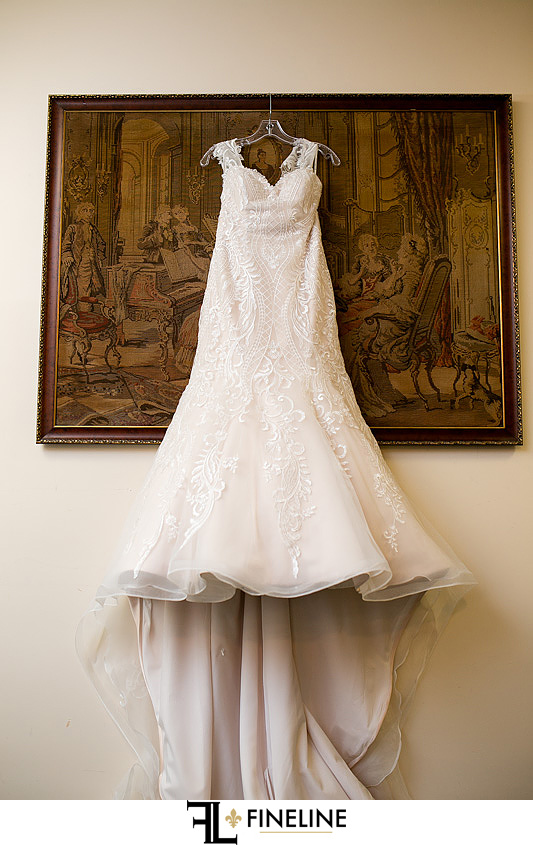 wedding dress photo by FINELINE Weddings Greensburg, PA