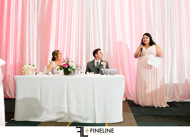 DoubleTree by Hilton Cranberry Wedding Reception photo by FINELINE Weddings Greensburg, PA