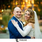 downtown Pittsburgh Wedding photos at dusk
