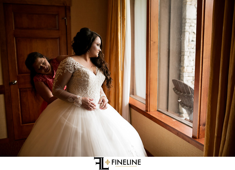Bride photo by FINELINE Weddings Greensburg, PA