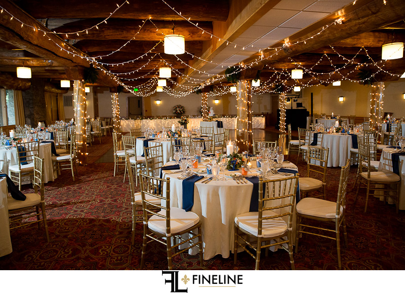 Seven Spring Wedding Reception photo by FINELINE Weddings Greensburg, PA
