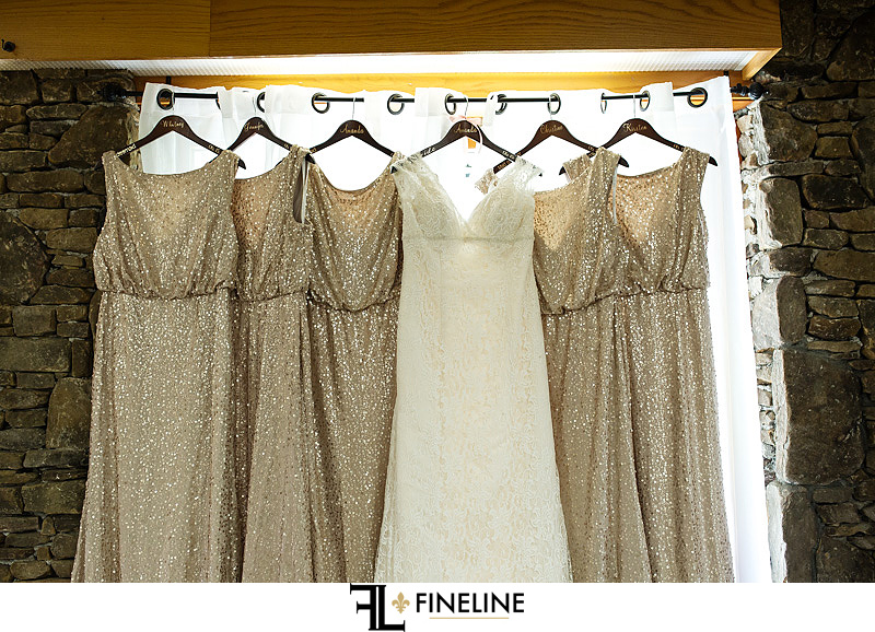 dresses Photo by FINELINE Wedding Greensburg, PA