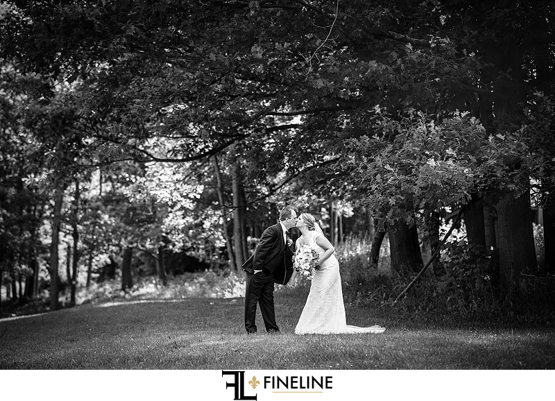 Bride and Groom Photo by FINELINE Wedding Greensburg, PA