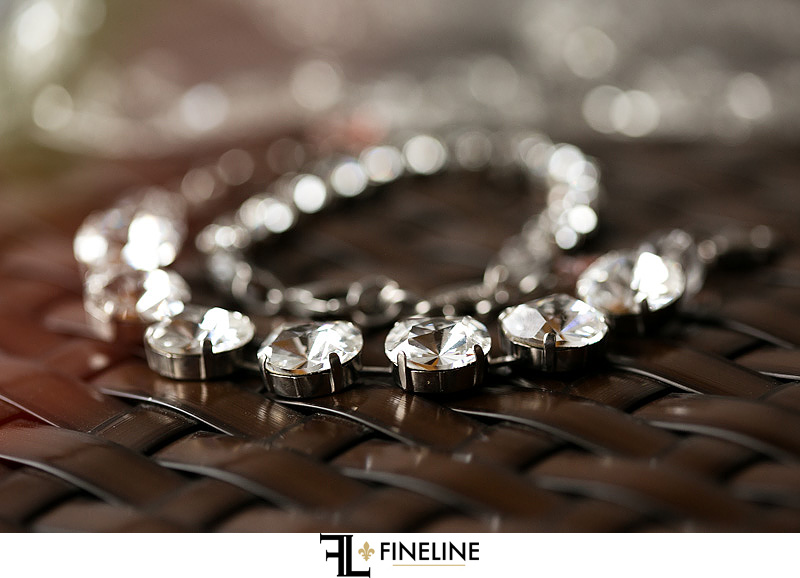 Necklace photo by FINELINE Weddings Greensburg, PA
