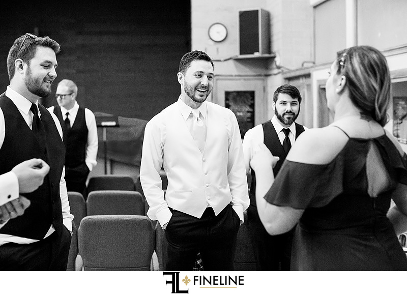 groom getting ready photo by FINELINE Weddings Greensburg, PA