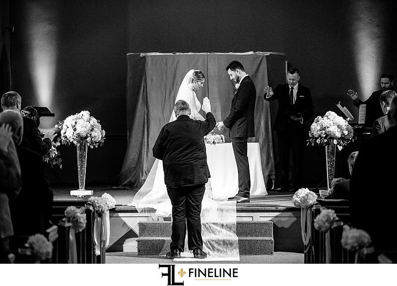 Sharpsburg Family Worship Center Wedding Ceremony photo by FINELINE Weddings Greensburg, PA