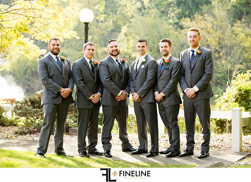 groomsmen photo by FINELINE Weddings