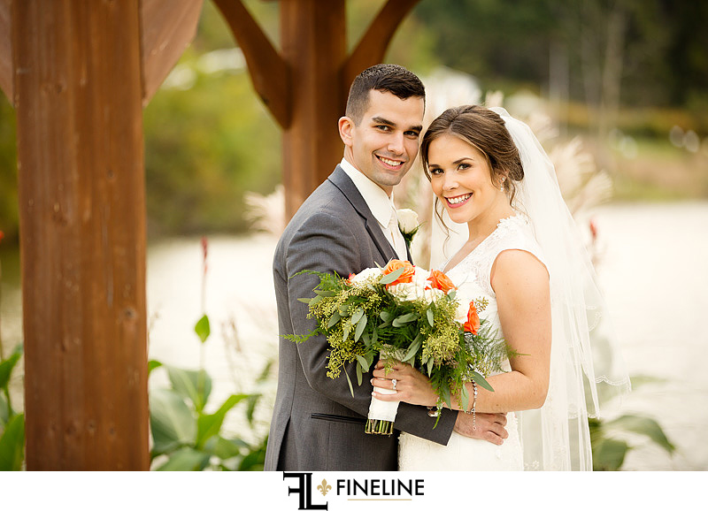 bride and groom photo by FINELINE Weddings