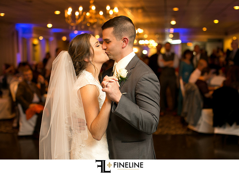 Ferrante's Lakeview Wedding Reception photo by FINELINE Weddings