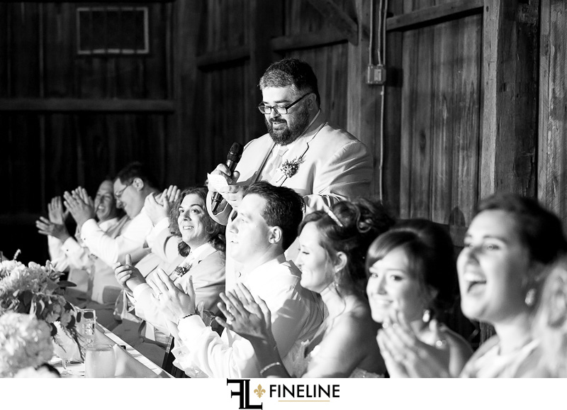 Bells Banquets Reception photo by FINELINE Weddings Greensburg, PA