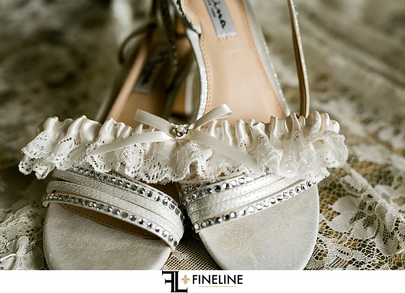 wedding heels photo by FINELINE Weddings Greensburg, PA