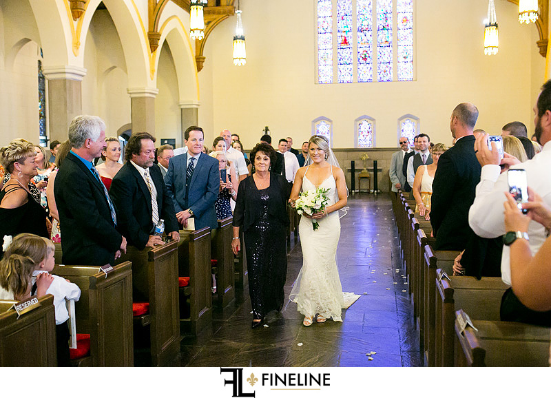 First United Church Wedding Ceremony photo by FINELINE Weddings Greensburg, PA