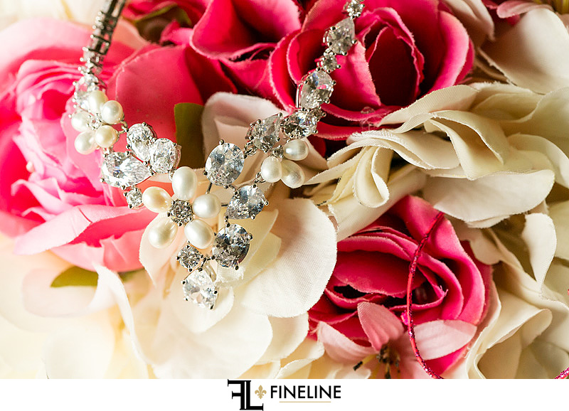 bridal necklace FINELINE weddings photography Greensburg PA