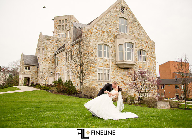 Bride and Groom FINELINE weddings photography Greensburg PA
