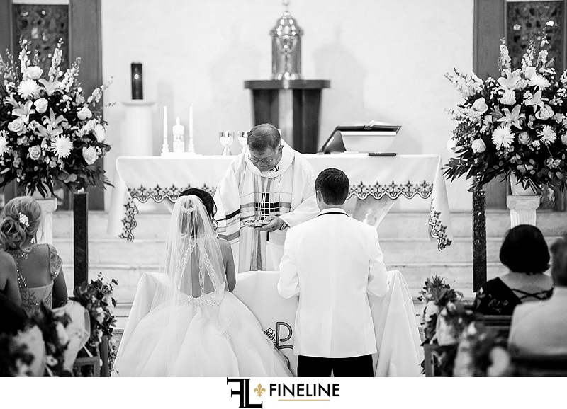 Saint Patricks Church Wedding Reception  photo by FINELINE Weddings Greensburg, PA