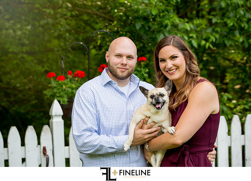 FINELINE studio engagement photos by FINELINE weddings of Greensburg PA