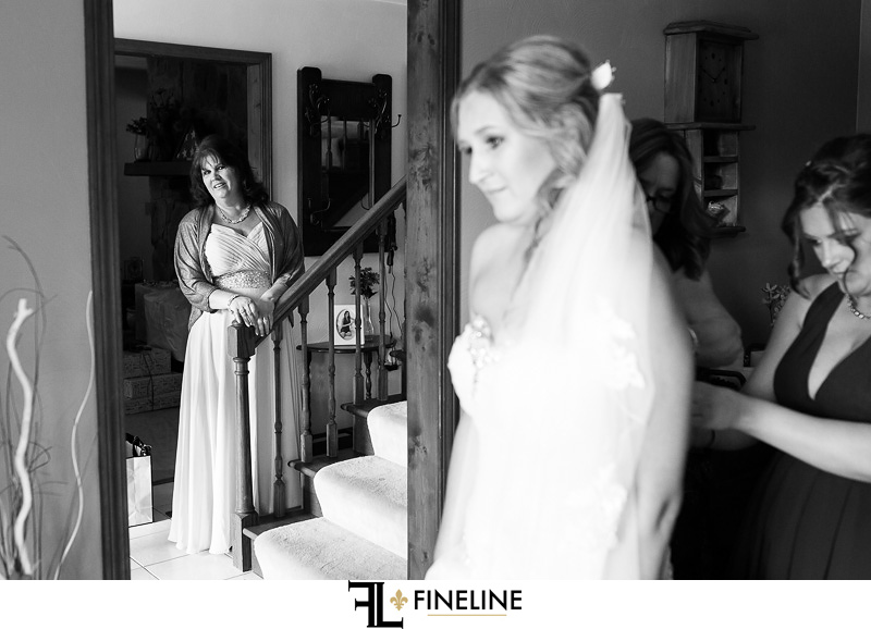 black and white photo photos by FINELINE weddings Greensburg PA