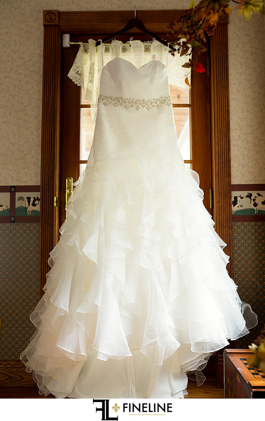 wedding dress photo by FINELINE Weddings Greensburg PA