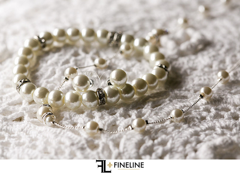 pearls photo by FINELINE Weddings Greensburg PA