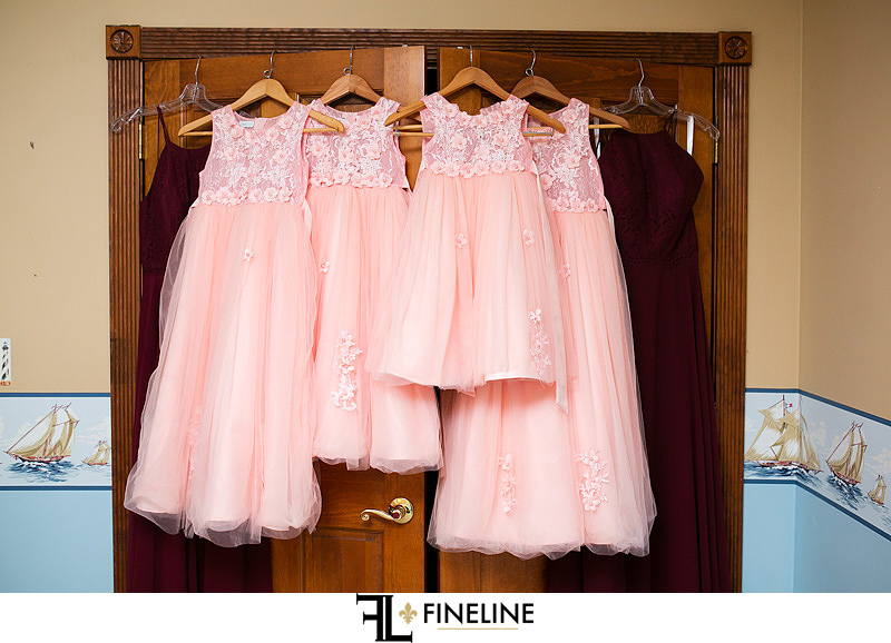 bridesmaid dresses photo by FINELINE Weddings Greensburg PA