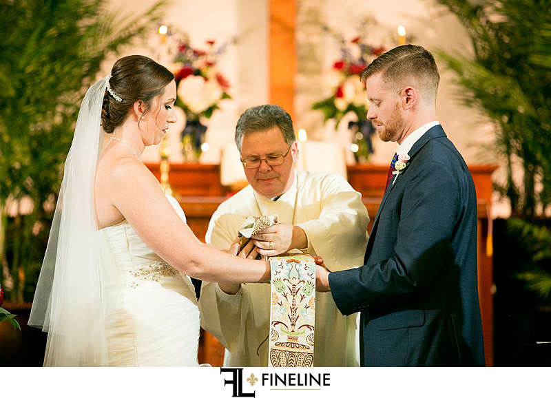 First United Methodist Church Wedding ceremony photo by FINELINE Weddings Greensburg PA
