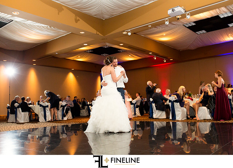 Stratigos Wedding Reception Bridal photo by FINELINE Weddings Greensburg PA