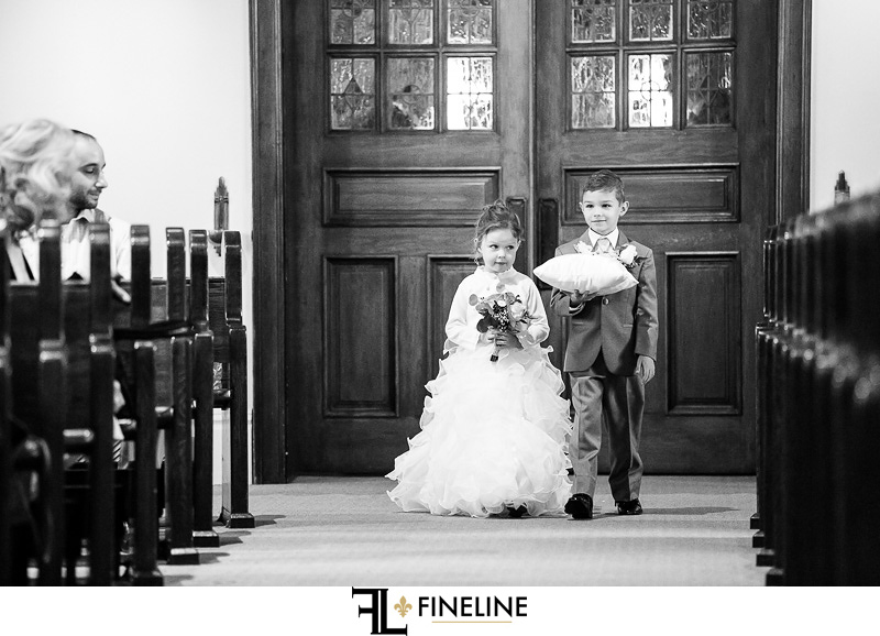 Chruch wedding photo by FINELINE Weddings Greensburg, PA