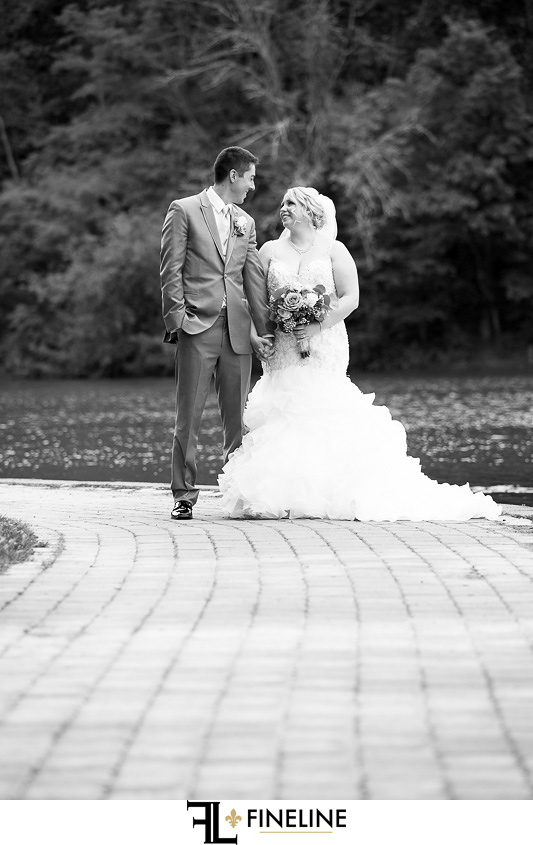 Bride and Groom photo by FINELINE Weddings Greensburg, PA