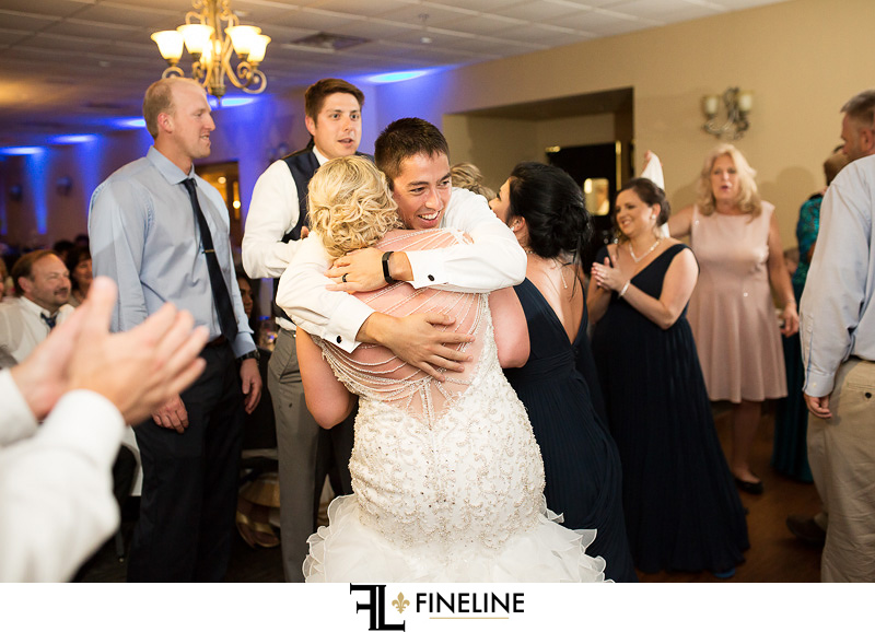 Rizzos Malabar Inn Wedding reception photo by FINELINE Weddings Greensburg, PA