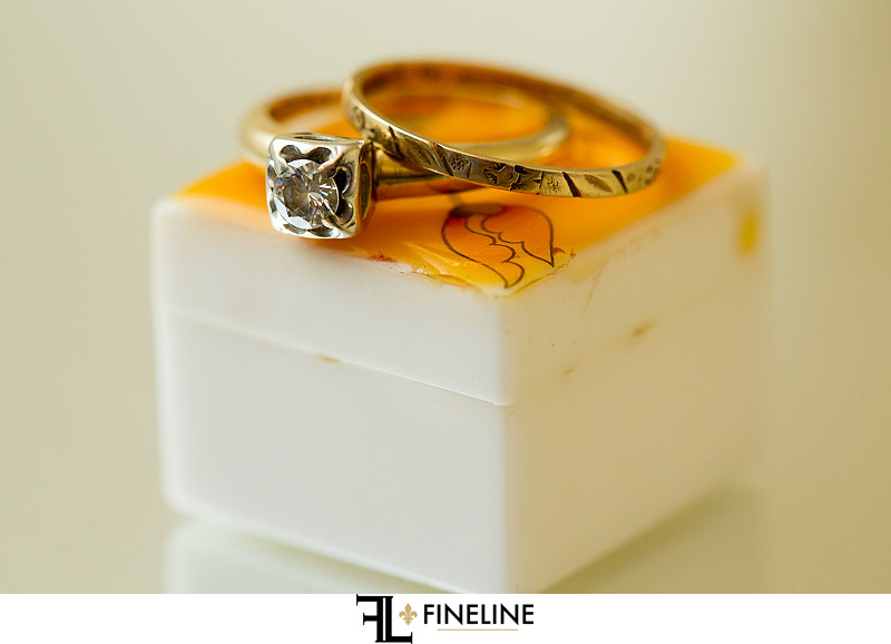 Vintage Ring photo by FINELINE Weddings Greensburg PA