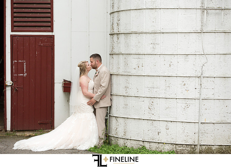 Outdoor wedding photoshoot photo by FINELINE Weddings Greensburg PA