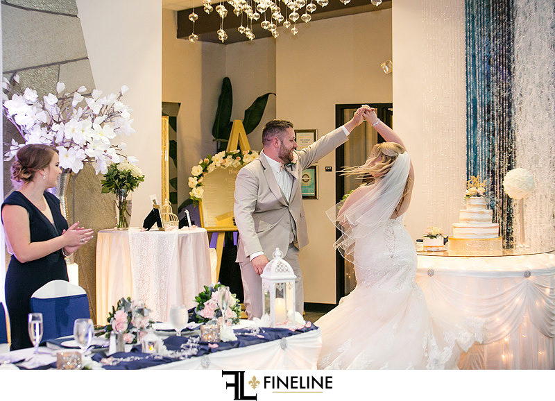 Sunset Room Wedding Reception photo by FINELINE Weddings Greensburg, PA