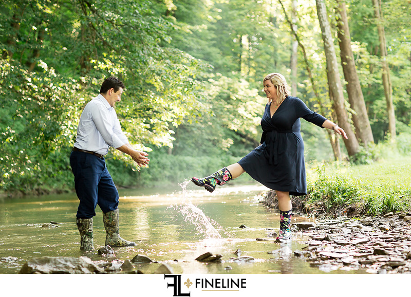 Engagement Photos by FINELINE weddings Greensburg, PA