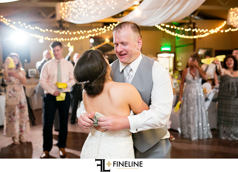 Foggy Mountain Lodge Wedding Reception photo by FINELINE Weddings Greensburg PA