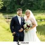 FINELINE studio bride and groom photo by FINELINE Weddings Greensburg, PA