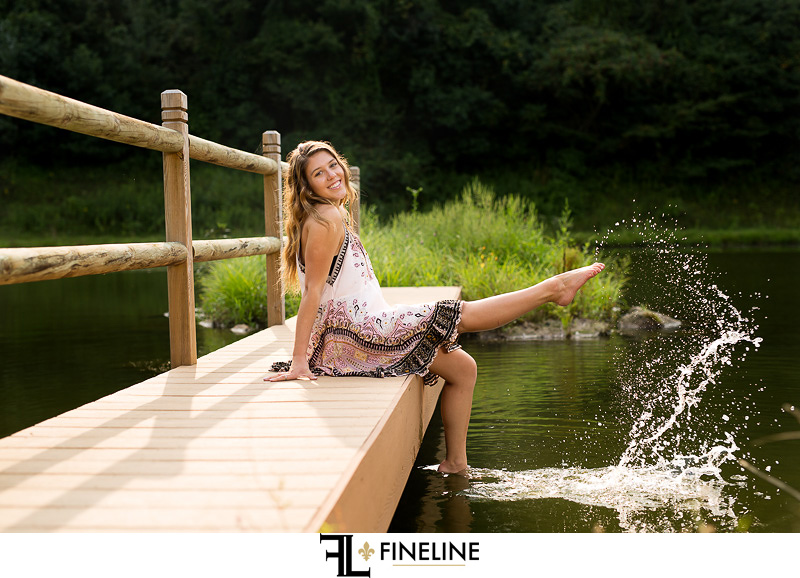 franklin regional high school senior pictures photographer