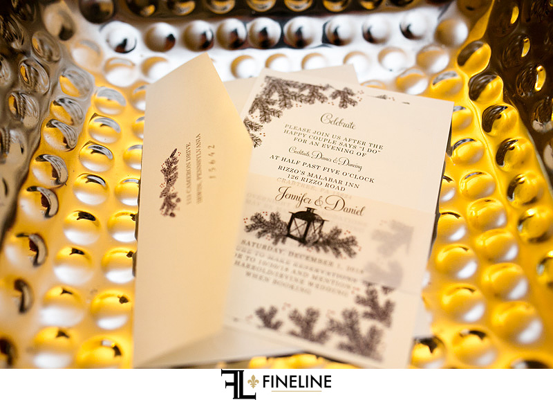 invitation photo by FINELINE Weddings Greensburg, PA