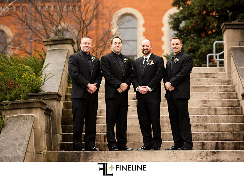Saint Vincent Basilica Wedding Ceremony photo by FINELINE Weddings Greensburg, PA