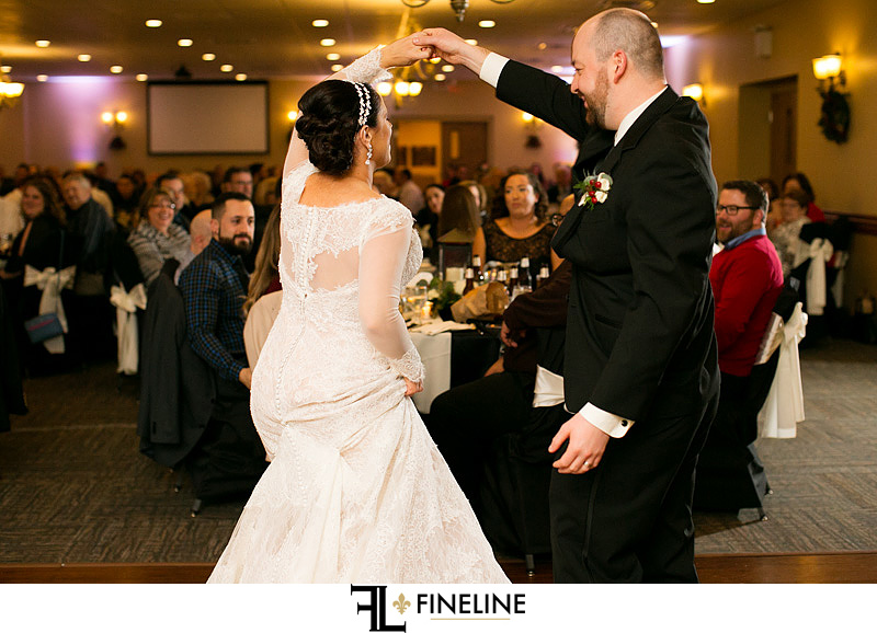 Rizzo's Malabar Inn Wedding reception photo by FINELINE Weddings Greensburg, PA