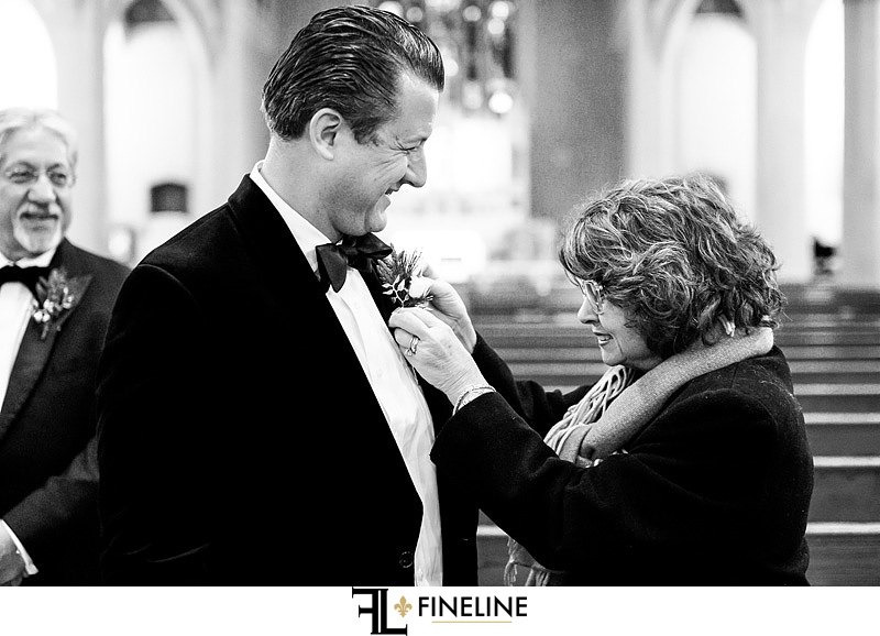 groom before ceremony photo by FINELINE Weddings Greensburg, PA