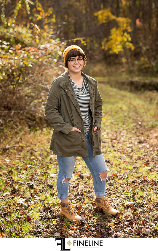latrobe high school senior pictures portraits
