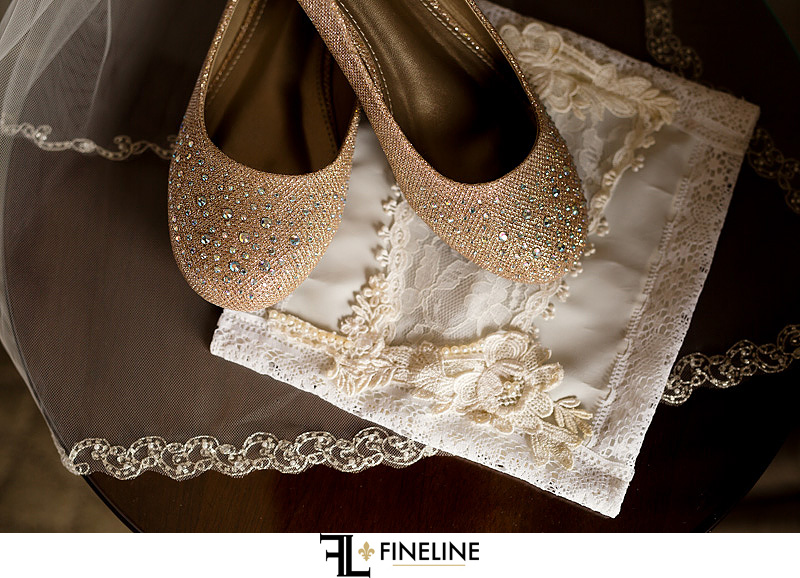 wedding shoes photo by FINELINE Weddings Greensburg, PA