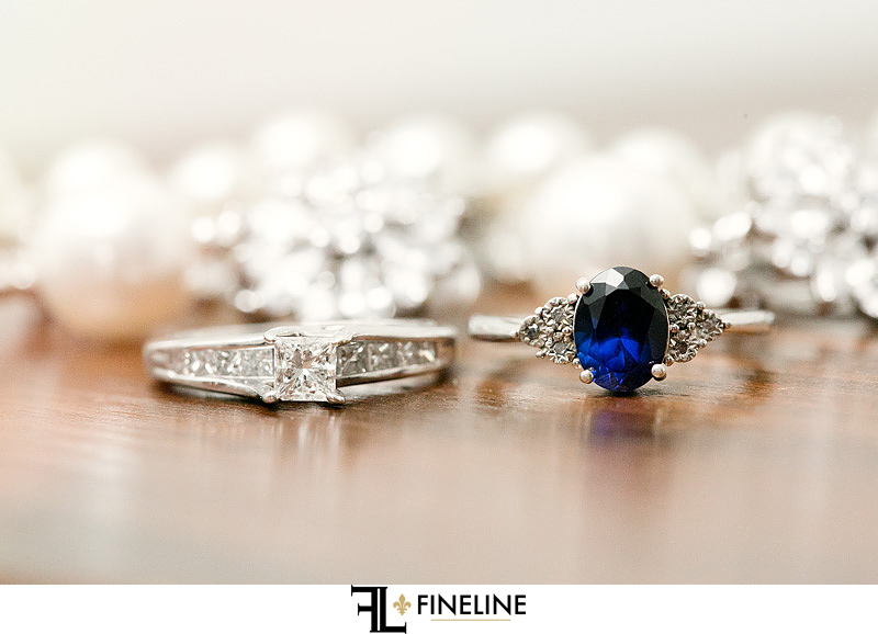 engagement and wedding ring photo by FINELINE Weddings Greensburg, PA