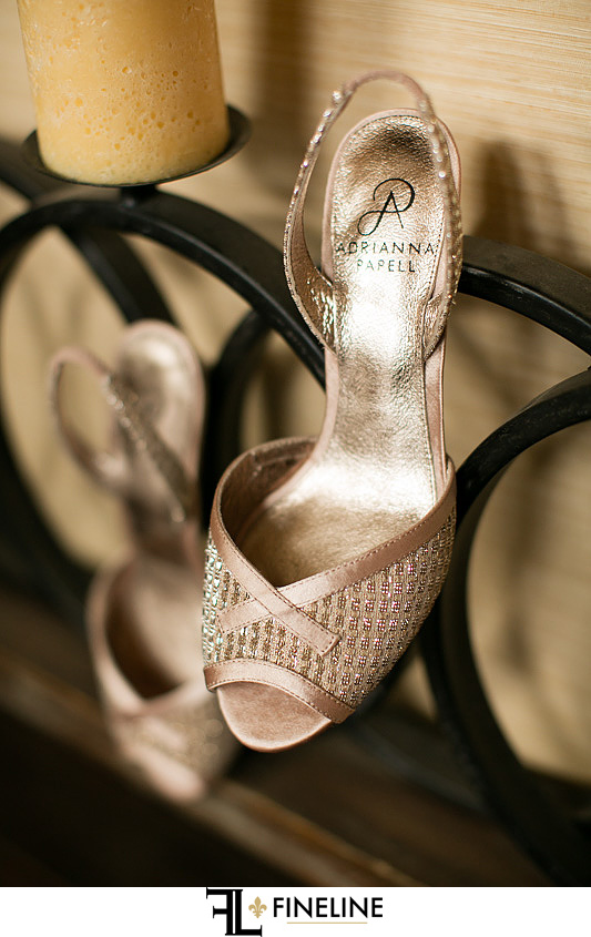 shoes photo by FINELINE Weddings Greensburg, PA